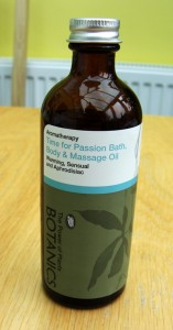 Botanics Time for Passion Bath, Body & Massage Oil