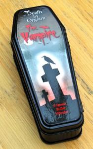 Death By Orgasm Vampire Bullet Vibrator Tin