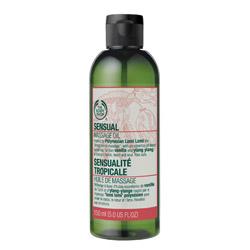 Body Shop Sensual Massage Oil