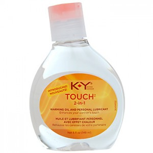 KY Touch 2-in-1 Warming Oil