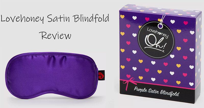 lovehoney satin blindfold review