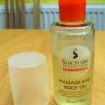 Sanctuary Massage and Body Oil