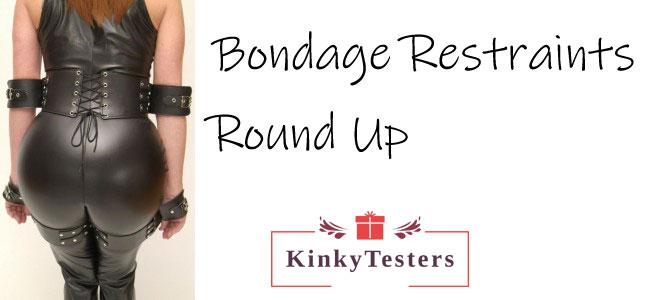 bondage restraints round up