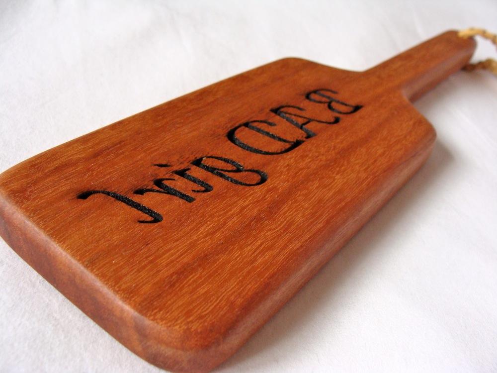 Wood Wang Workshop Paddle