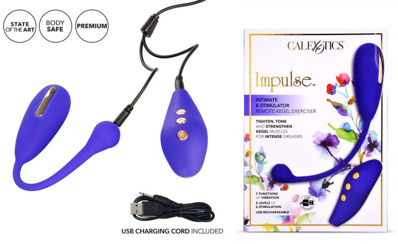 California Exotics Intimate E Stimulator Remote Kegel Exerciser